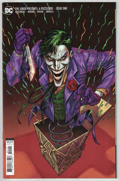 Joker Presents a Puzzlebox #1 1:25 Jesus Merino Variant DC 2021 Rosenberg VF/NM