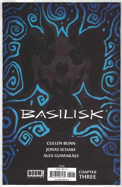 Basilisk #3 1:25 Rod Reis Virgin Variant Boom! 2021 Cullen Bunn VF/NM