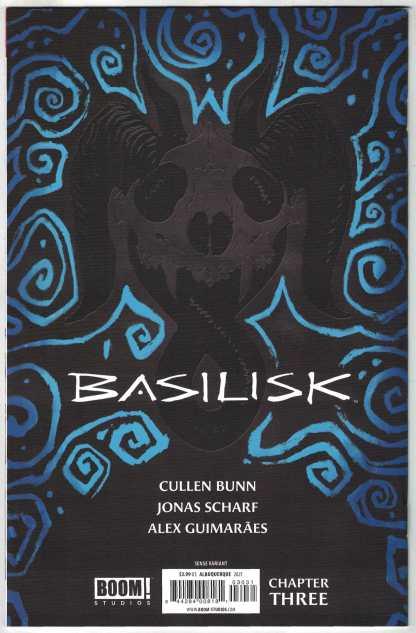 Basilisk #3 1:25 Rafael Albuquerque Virgin Variant Boom! 2021 Cullen Bunn VF/NM