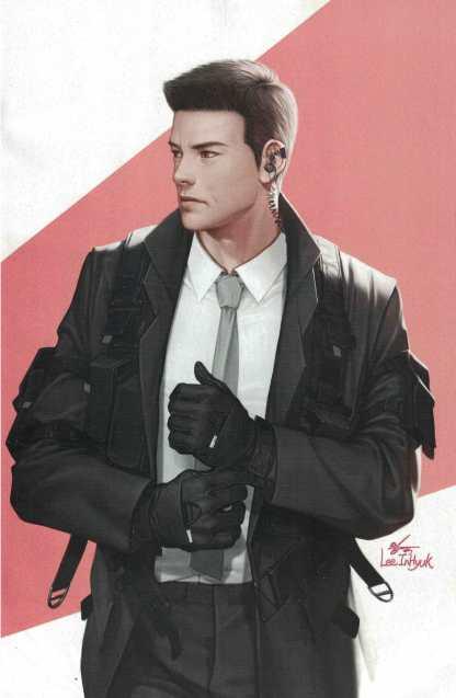 Avengers #47 1:50 Inhyuk Lee AAPI Heritage Virgin Variant Marvel 2018