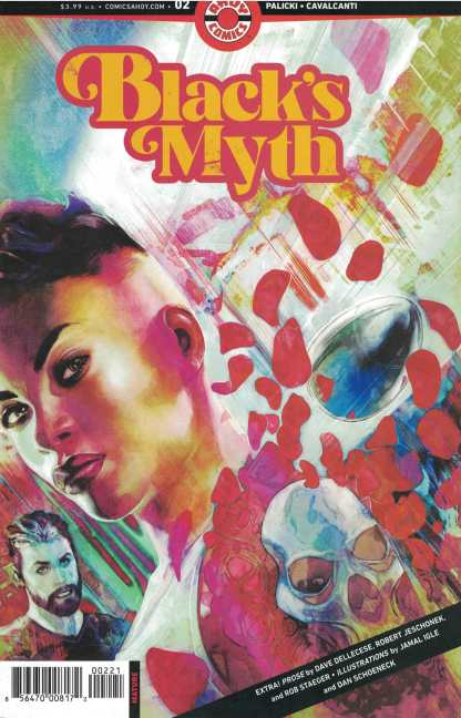 Black's Myth #2 Steve Pugh 1st Print B Cover Ahoy 2021