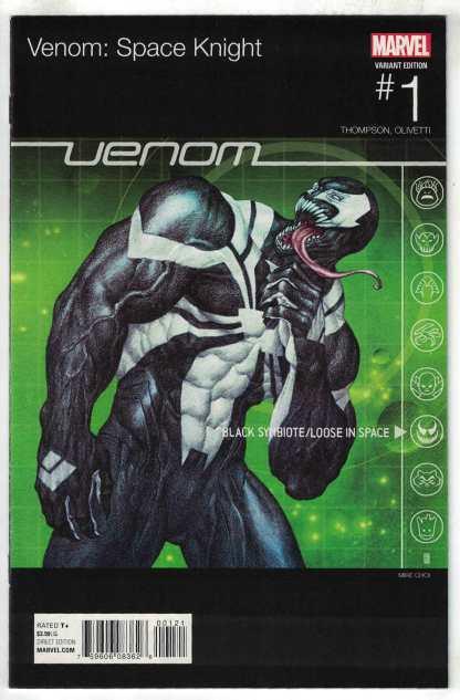 Venom Space Knight #1 Mike Choi Hip Hop Variant Marvel 2015 VF/NM