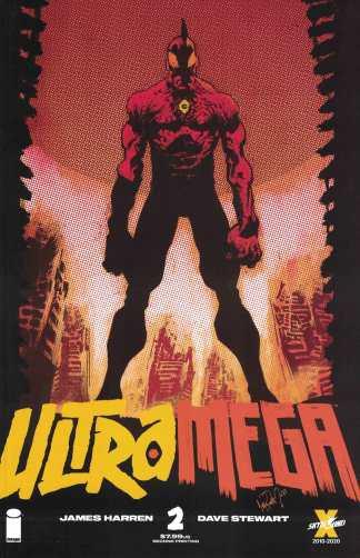 Ultramega #2 James Harren 2nd Print Variant Image Skybound 2021