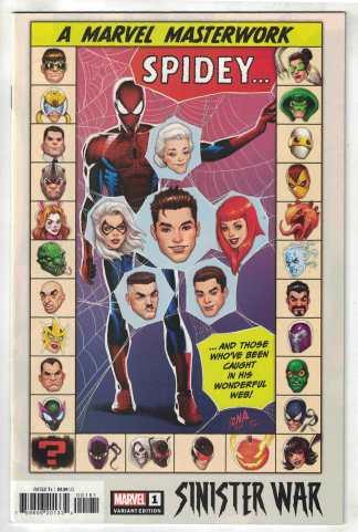 Sinister War #1 1:25 Nakayama Variant Marvel 2021 VF/NM