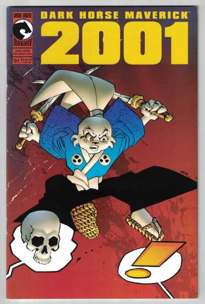 Dark Horse Maverick 2001 #1 Frank Miller Cover Mignola Sakai VF