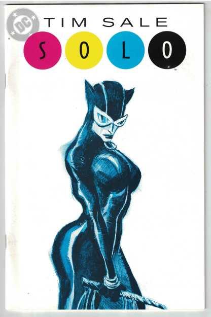 Solo #1 Tim Sale Catwoman Cover Azzarello Loeb Schutz DC 2004 VF