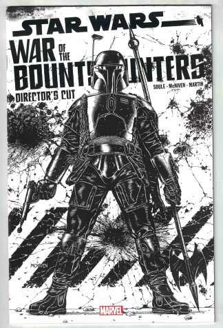 Star Wars War of the Bounty Hunters Alpha Directors Cut 1:25 Marvel 2021 VF/NM