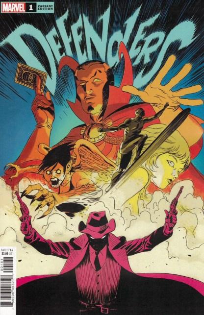 Defenders #1 1:25 Marcos Martin Variant Marvel 2021