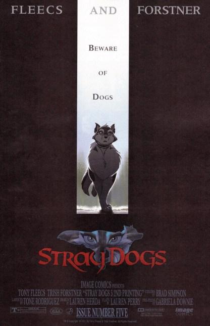 Stray Dogs #5 2nd Print 1:10 Fleecs Forstner Crow Variant Image 2021