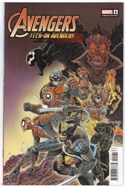Avengers Tech-On #1 1:25 James Stokoe Variant Marvel 2021 VF/NM