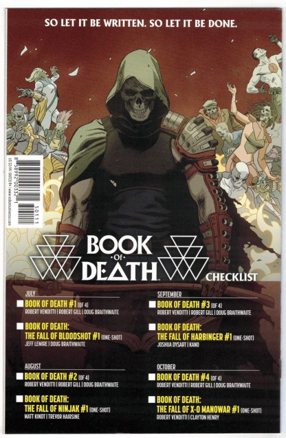 Book of Death Legends of the Geomancer #1 1:25 Sauvage Variant 2015 VF/NM
