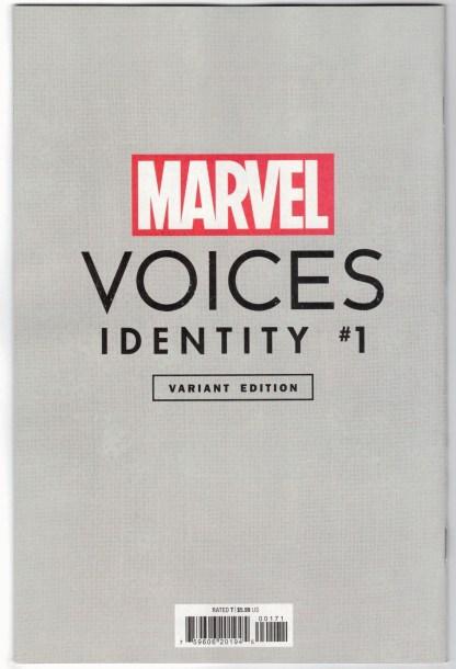 Marvels Voices Identity #1 1:50 Peach Momoko Virgin Variant Marvel 2021 VF/NM