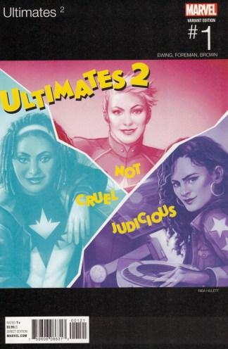 Ultimates 2 #1 Risa Hulett Hip Hop Variant Marvel 2016
