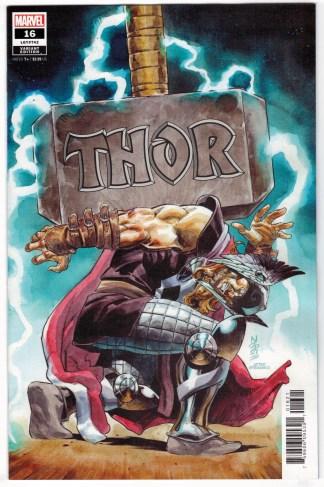 Thor #16 1:25 Nic Klein Homage Variant Hulk Annual #1 Marvel 2020 VF/NM