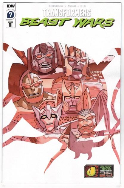 Transformers Beast Wars #7 1:10 Gavin Guidry RI Variant Boom 2021 VF/NM