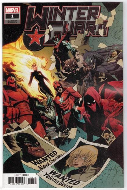 Winter Guard #1 1:25 Kim Jacinto Variant Marvel 2021 VF/NM