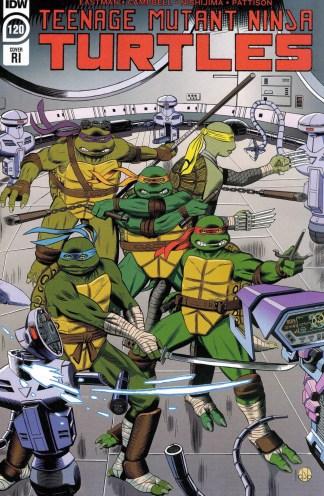 Teenage Mutant Ninja Turtles #120 1:10 DJ Bryant Variant IDW 2011