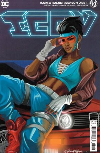 Icon and Rocket Season One #1 1:25 Reina Koyano Variant DC 2021