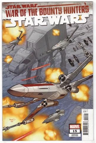 Star Wars #15 1:25 Renaud Variant War of the Bounty Hunters Marvel 2020 VF/NM
