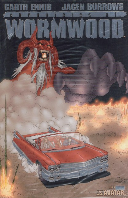 Chronicles of Wormwood #4 Platinum Foil Variant w/ COA Sealed Polybag Limit 650