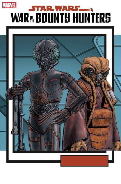Star Wars War of the Bounty Hunters #5 1:25 JT Christopher Trading Card Variant