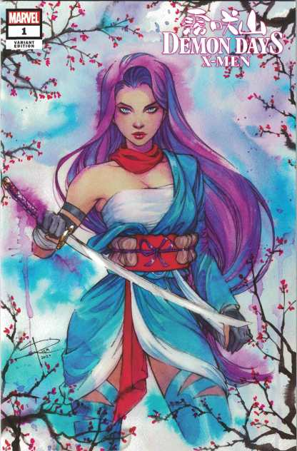 Demon Days X-Men #1 Sabine Rich Exclusive Cover Momoko Trade Marvel 2021