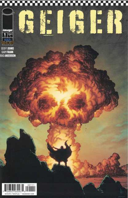 Geiger #1 Cover A 1st Print Gary Frank Geoff Johns Image 2021