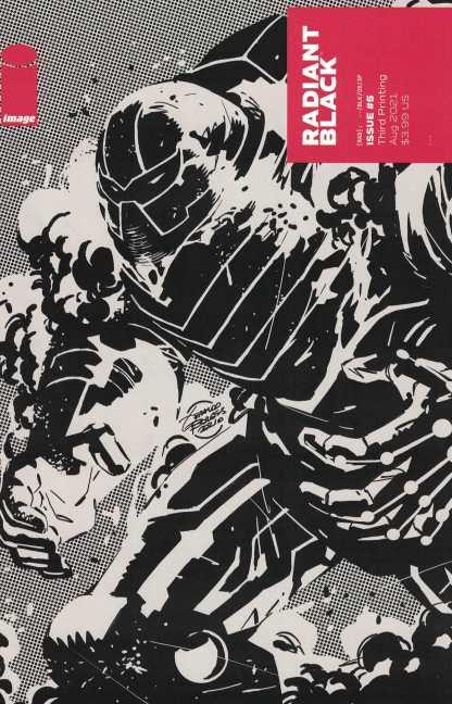 Radiant Black #5 3rd Print 1:10 Costa Variant Image 2021
