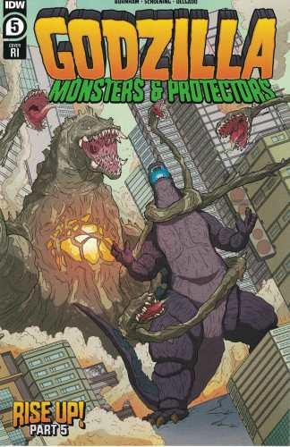 Godzilla Monsters & Protectors #5 1:10 Philip Murphy Variant IDW 2021