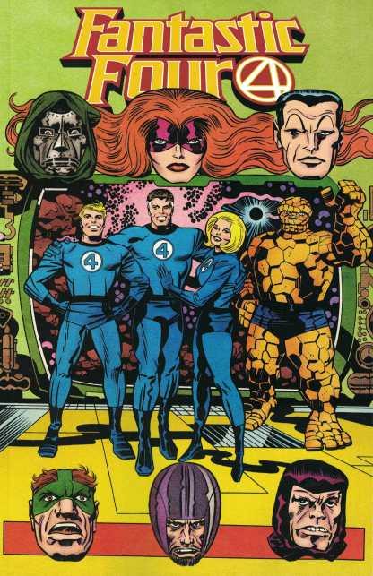 Fantastic Four #35 1:100 Jack Kirby Hidden Gem Variant Marvel 2018 Dan Slott