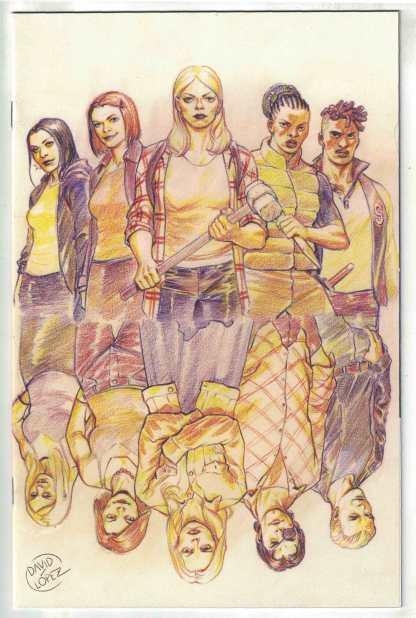 Buffy the Vampire Slayer #24 1:25 David Lopez Virgin Variant Boom 2019 VF/NM