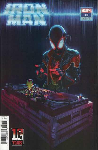Iron Man #12 Rahzzah Variant Marvel 2020 Miles Morales 10 Year Anniversary