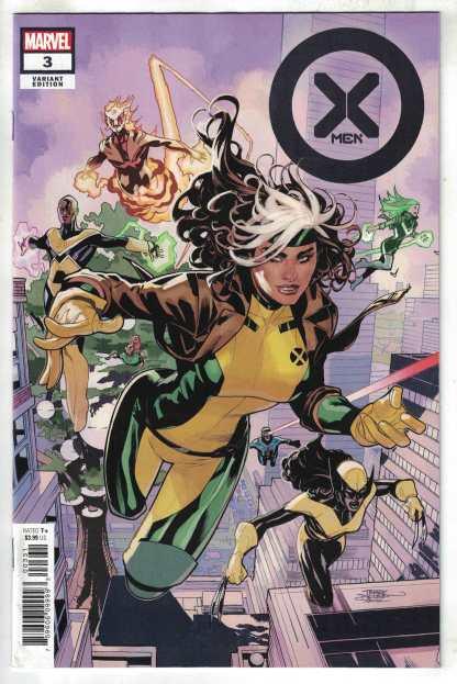 X-Men #3 1:25 Terry & Rachel Dodson Variant Marvel 2021 VF/NM