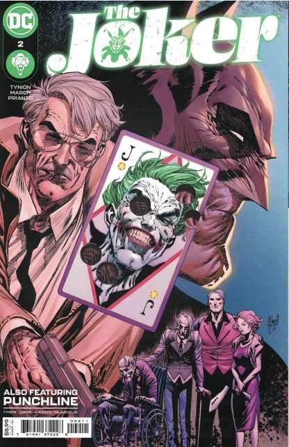Joker #2 Guillem March A CVR 1st Print DC 2021 Tynion 1st App Daughter of Bane