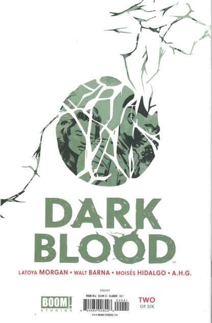 Dark Blood #2 1:25 Taurin Clarke Virgin Variant Boom 2021 LaToya Morgan
