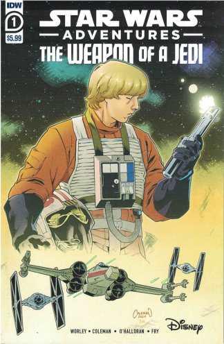 Star Wars Adventures the Weapon of a Jedi #1 Ruairi Coleman A CVR IDW 2021