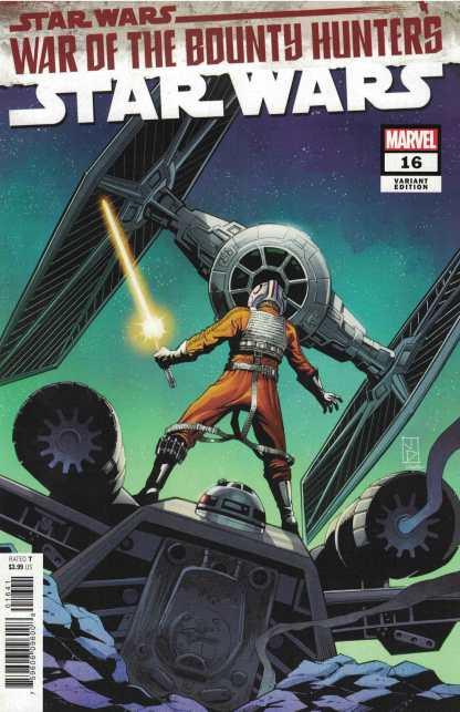 Star Wars #16 1:25 Jan Duursema Variant Marvel 2020 War of the Bounty Hunters