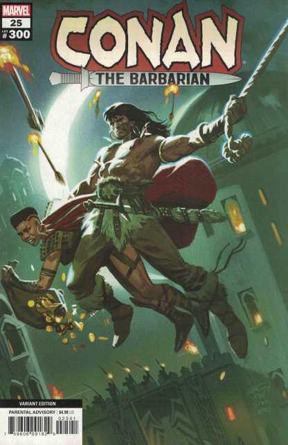 Conan the Barbarian #25 1:25 Daniel Acuna Variant Marvel 2019 LGY#300