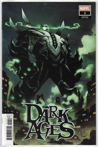 Dark Ages #1 1:50 Stegman Variant Tom Taylor Marvel 2021 F/VF