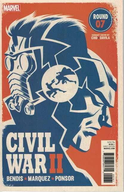 Civil War II #7 Michael Cho Variant ANAD Marvel 2016 Star Lord