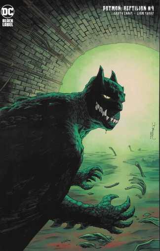 Batman Reptilian #4 1:25 Shalvey Variant Ennis Sharp DC 2021