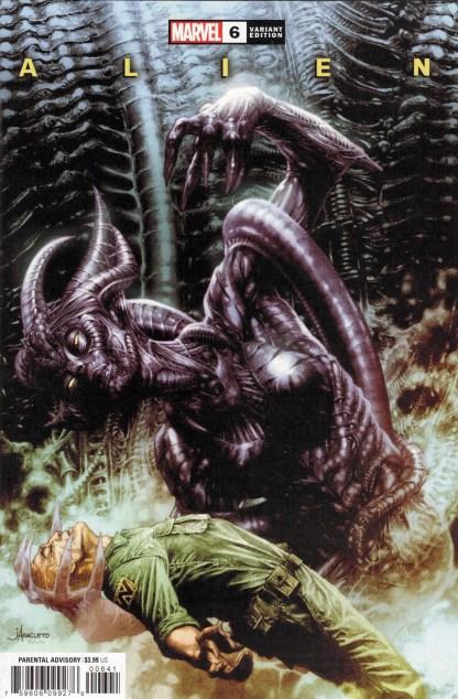 Alien #6 1:25 Anacleto & Beredo Variant Marvel 2021