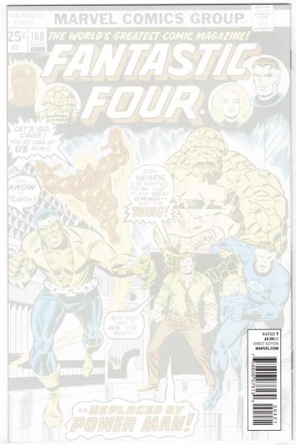 Captain America #4 1:50 Djurdjevic 50 Years of Fantastic Four Variant 2011 VF/NM