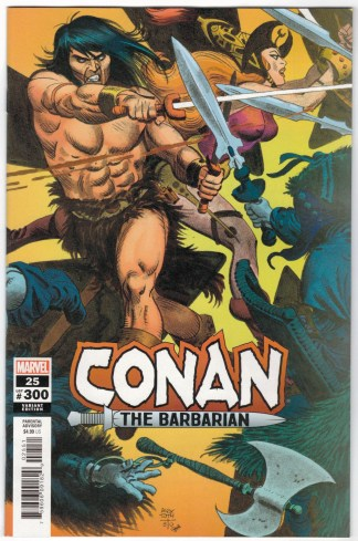 Conan the Barbarian #25 1:50 Alex Toth Variant Marvel 2019 VF/NM