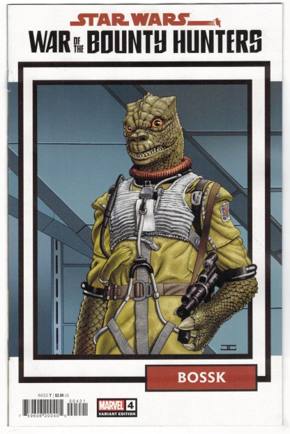 Star Wars War of the Bounty Hunters #4 1:25 Trading Card Variant 2021 VF/NM