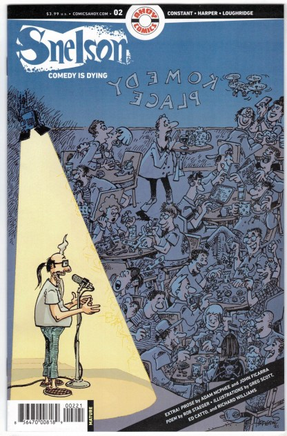 Snelson Comedy Is Dying #2 Sergio Aragones Variant Ahoy 2021 VF/NM