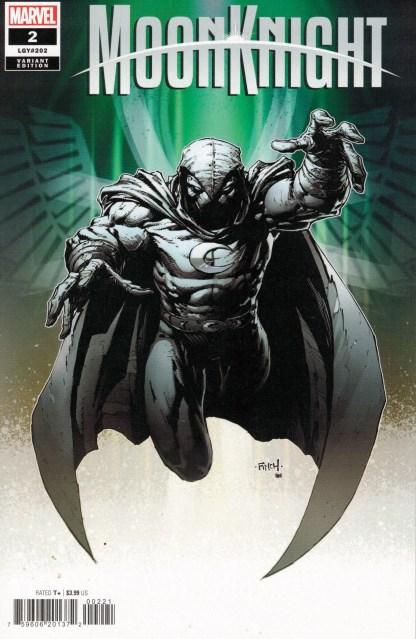 Moon Knight #2 1:25 David Finch Variant Marvel 2021