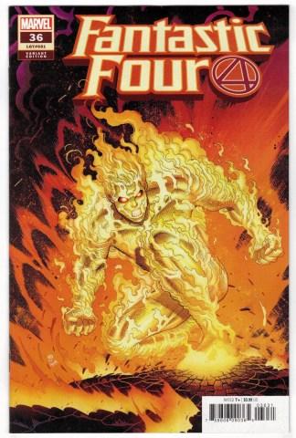 Fantastic Four #36 1:25 Nick Bradshaw Variant Marvel 2018 VF/NM