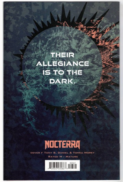 Nocterra #3 1:50 Tony S Daniel Variant Image 2021 VF/NM