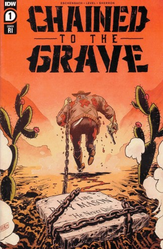 Chained to the Grave #1 1:10 Brian Level Variant IDW 2020